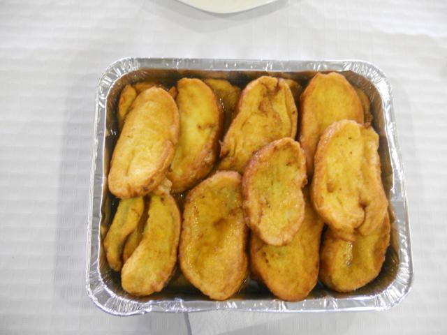 Torrijas licor bellota